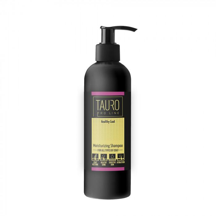 TAURO PRO LINE Healthy Coat moisturizing Šampūnas šunims ir katėms