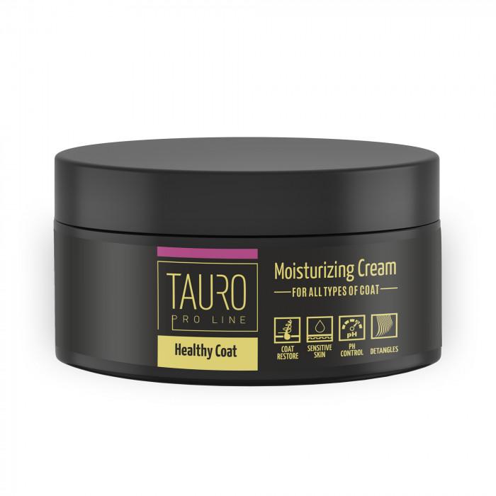 TAURO PRO LINE Healthy Coat Moisturizing cream 250 ml, kaukė šunims ir katėms