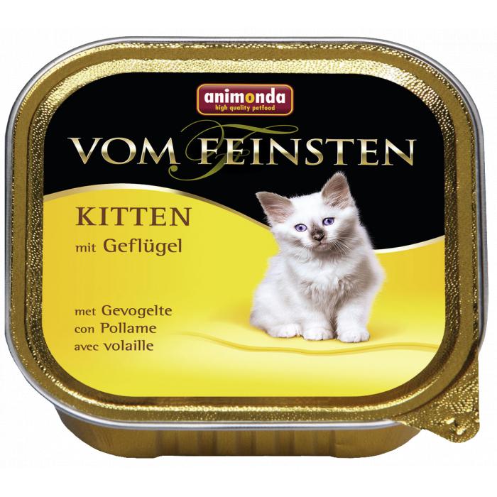 ANIMONDA Vom feinsten Konservuotas pašaras jaunoms katėms su paukštiena