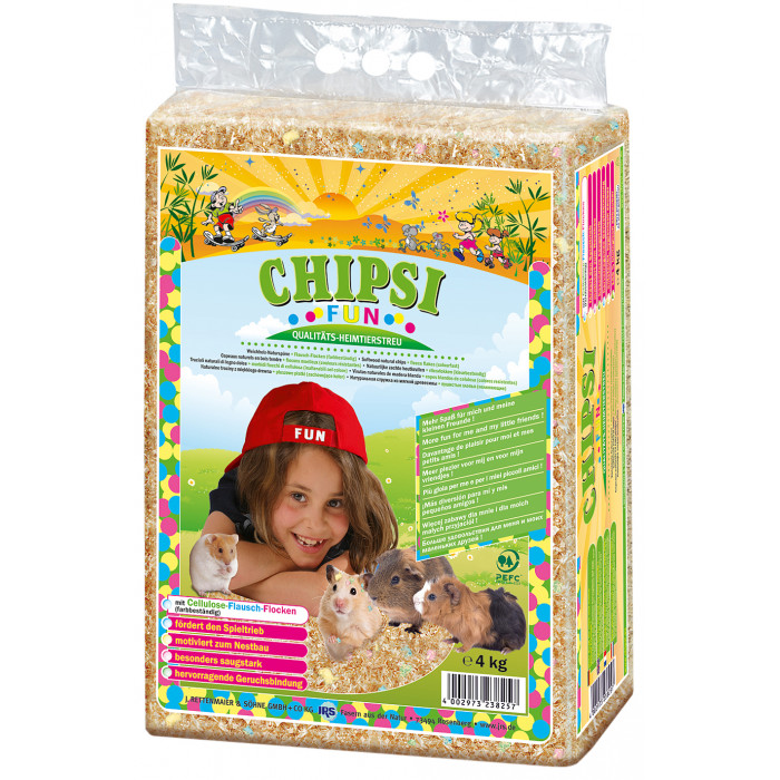 JRS Chipsi Fun Medžio drožlės gyvūnams
