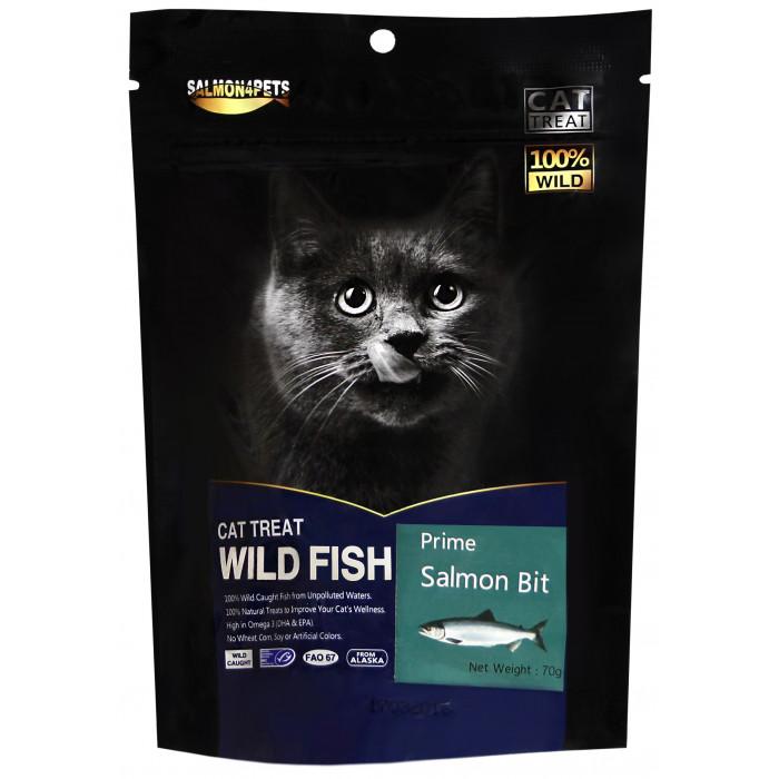 SALMON FOR FISH Skanėstai katėms lašišos gabaliukai
