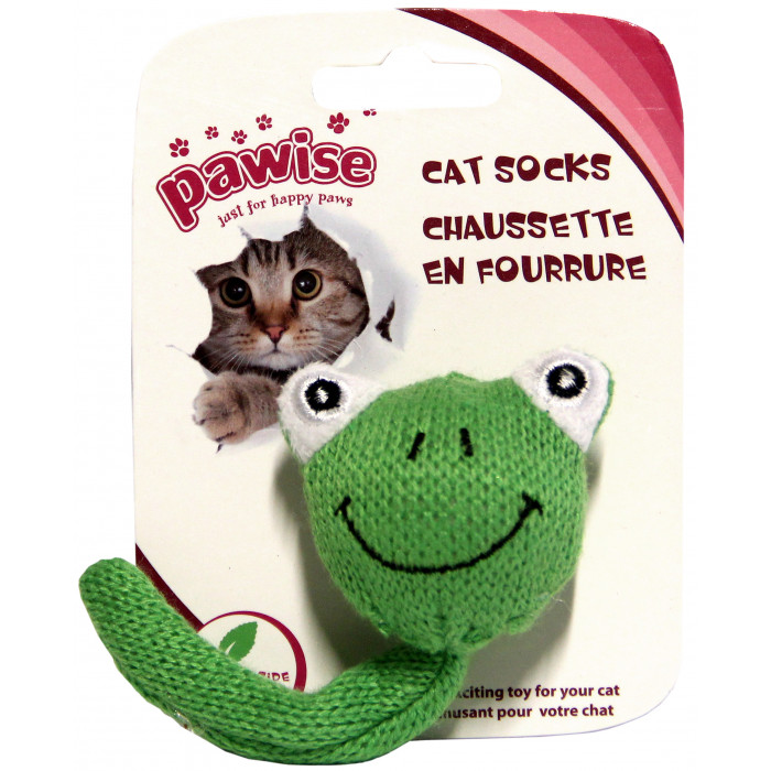 SIN PAWISE Sock Toy Žaislas katėms