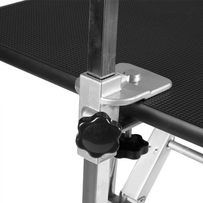 SHERNBAO Sulankstomas stalas su nerūdijančio plieno kojelėmis