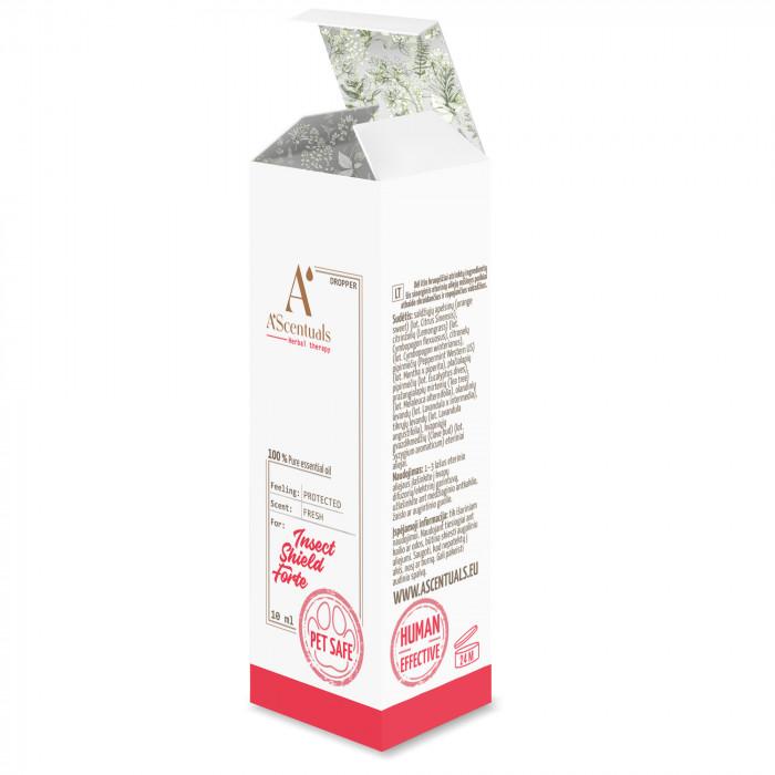 A'SCENTUALS Insect Shield Forte eterinių aliejų mišinys