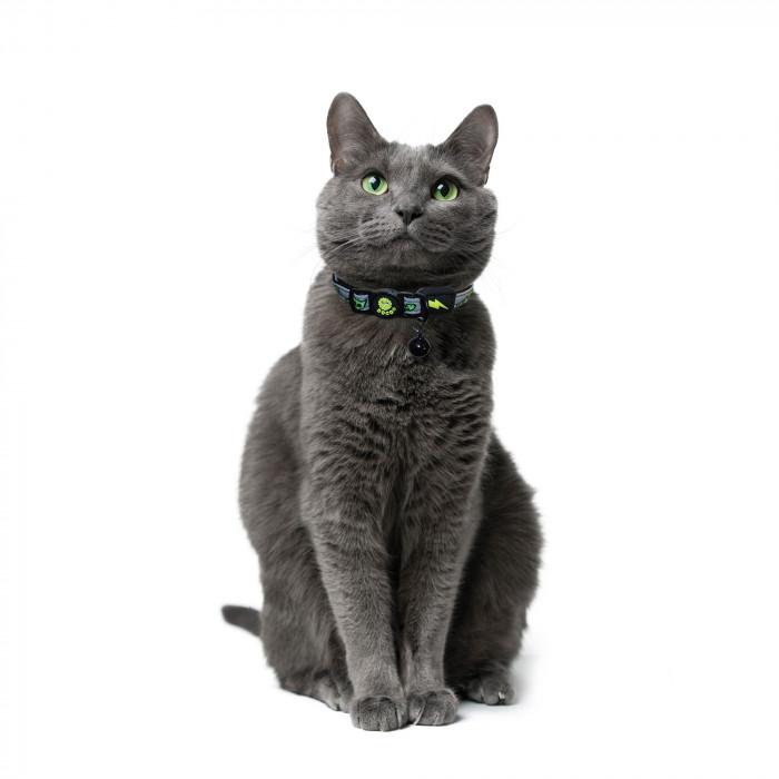DOCO Atspindintis šviesą antkaklis katėms