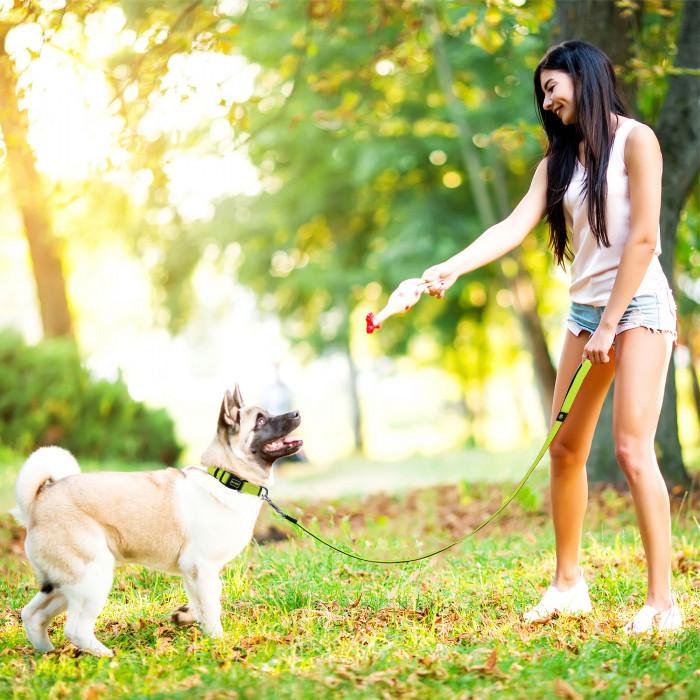 DOCO Puffy kvėpuojantis pavadėlis šunims