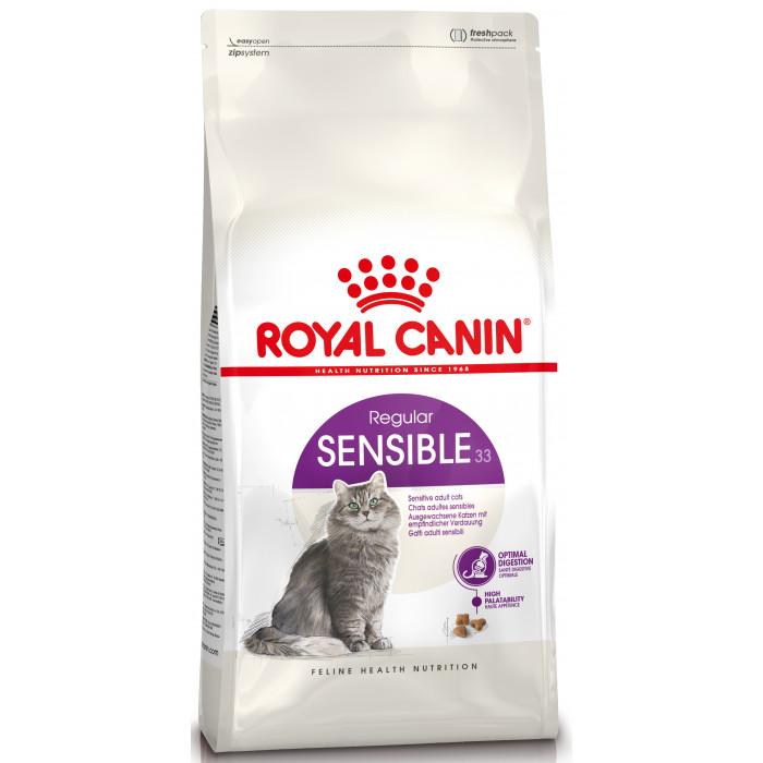 ROYAL CANIN Sensible 33 Sausas pašaras katėms