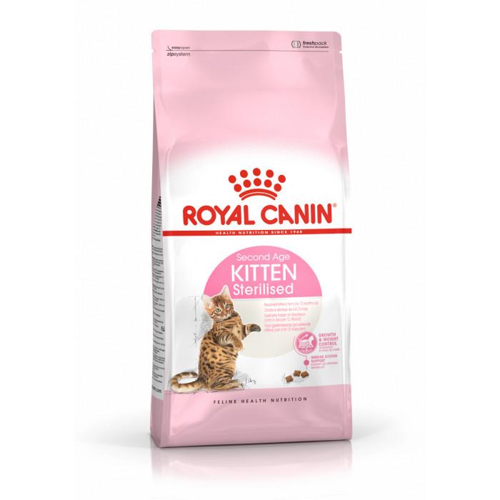 ROYAL CANIN Kitten Sterilised Sausas pašaras katėms