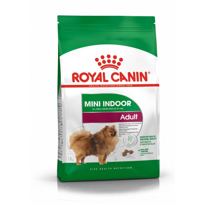 ROYAL CANIN Mini Indoor Adult Pašaras šunims
