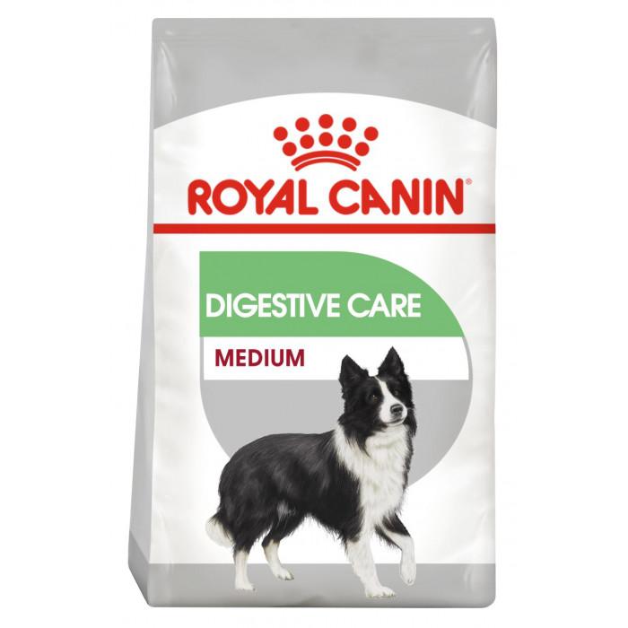 ROYAL CANIN CCN Medium Digestive Care Pašaras šunims