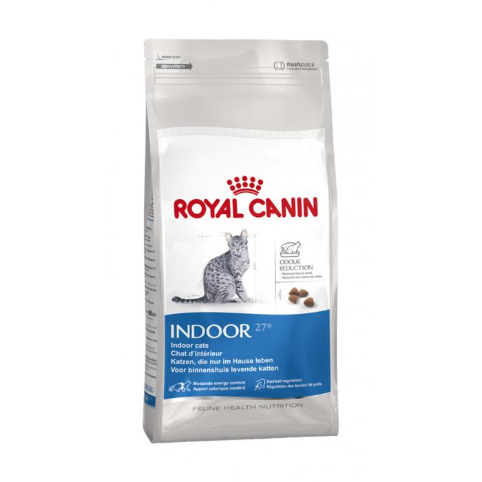 ROYAL CANIN Indoor 27 Sausas pašaras katėms