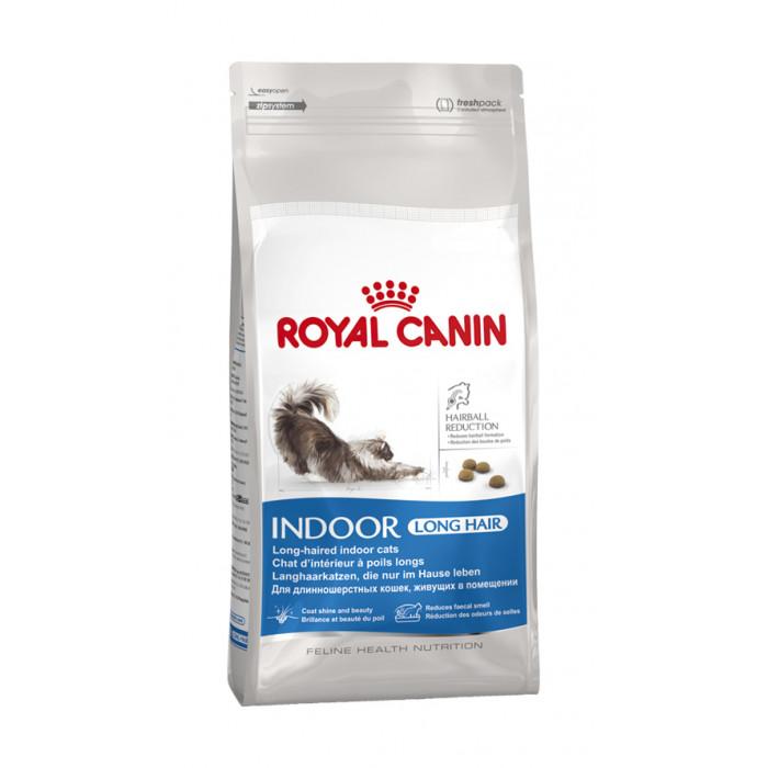 ROYAL CANIN Indoor Longhair Sausas pašaras katėms