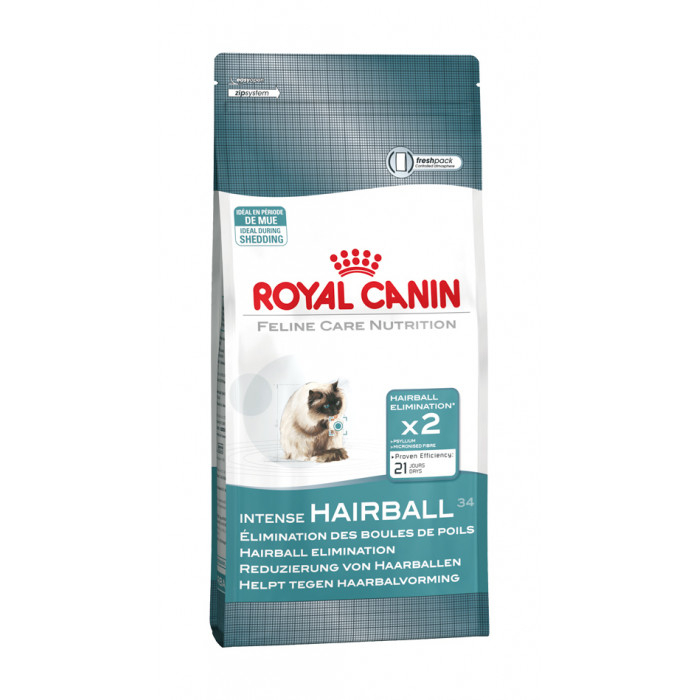 ROYAL CANIN Intense Hairball 34 Sausas pašaras katėms