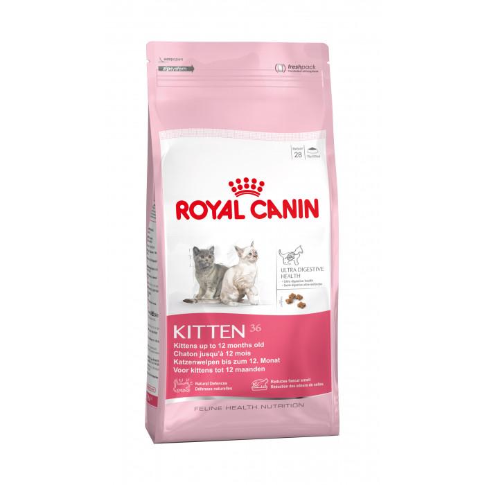 ROYAL CANIN Kitten 4 - 12 months Sausas pašaras katėms
