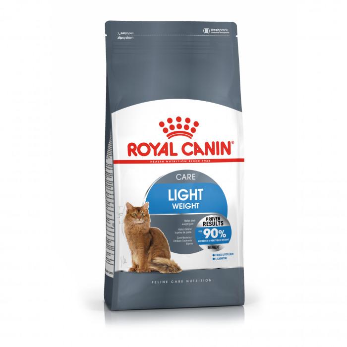 ROYAL CANIN FCN light weight care pašaras katėms,