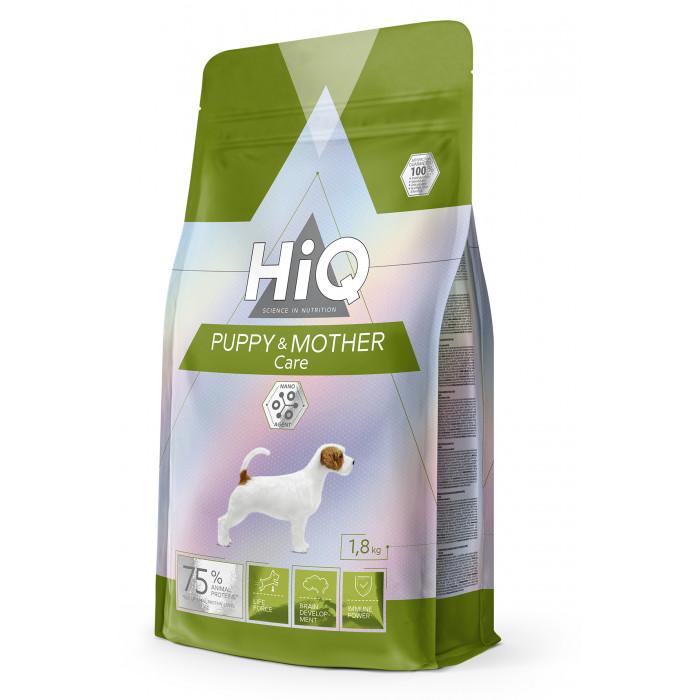 HIQ Puppy and Mother Care Sausas pašaras šunims