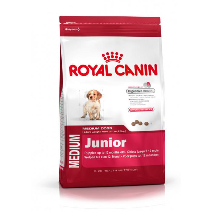ROYAL CANIN Medium Puppy  Sausas pašaras šunims