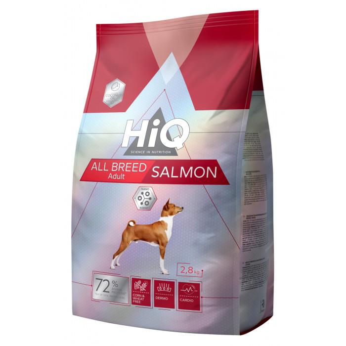 HIQ All Breed Salmon Pašaras visų veislių šunims