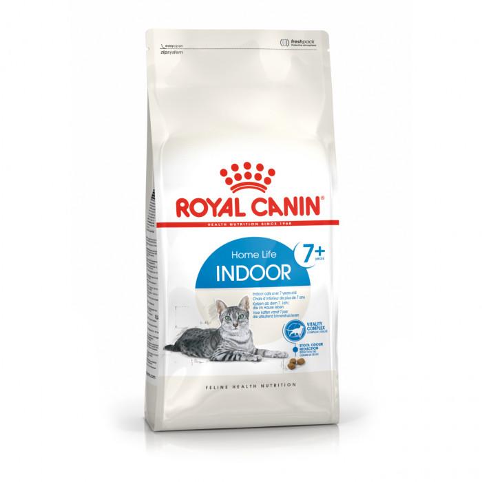ROYAL CANIN Indoor+7 pašaras pagyvenusioms katėms