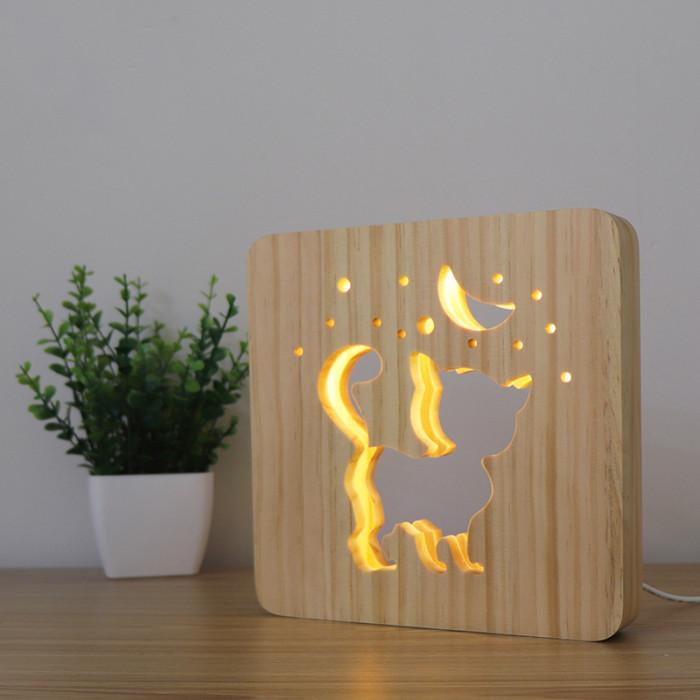 P.LOUNGE Medinis šviestuvas Kačiukas