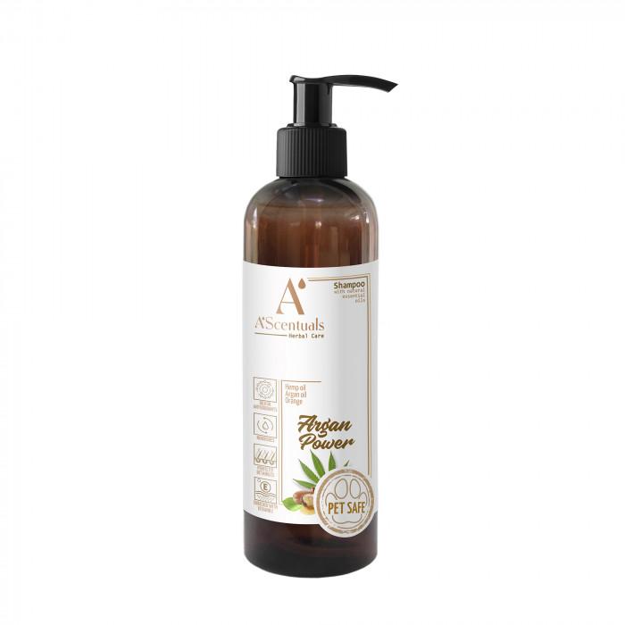 A'SCENTUALS Herbal Care Argan/Hemp šampūnas