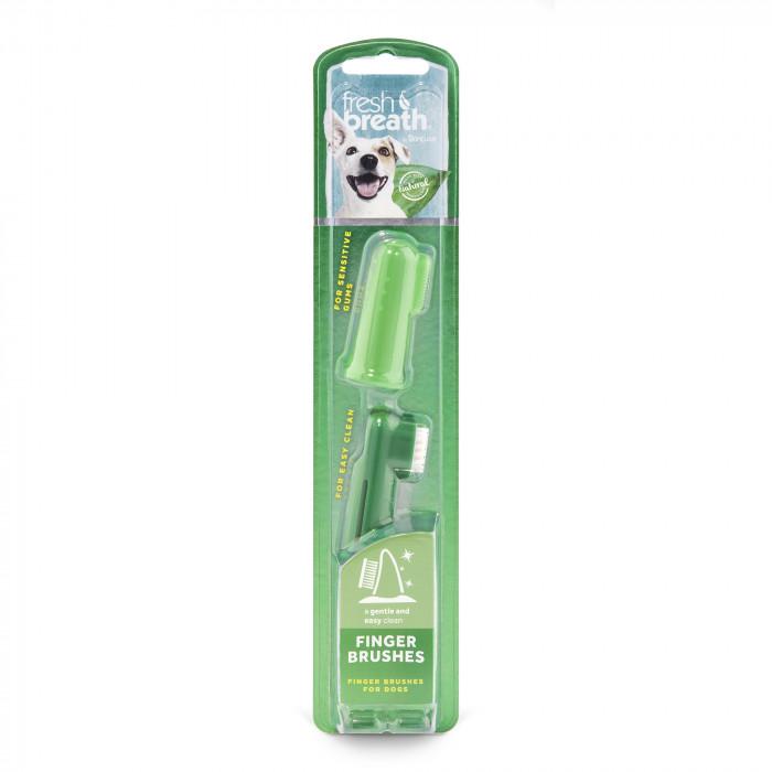 FRESH BREATH dantų šepetėlis šunims, užmaunamas ant piršto