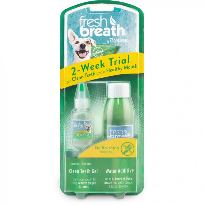 FRESH BREATH rinkinys dantų priežiūrai, bandomasis