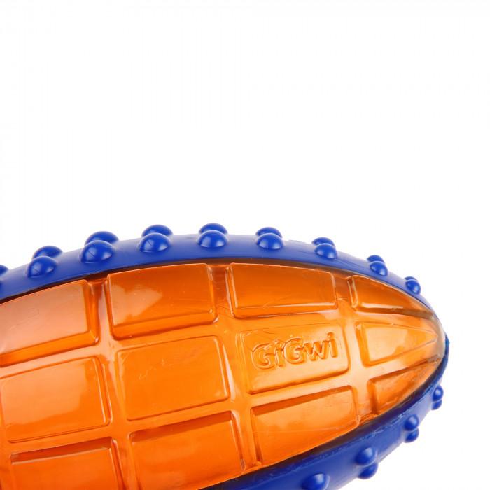 GIGWI Šunų žaislas Regbio kamuolys Push To Mute