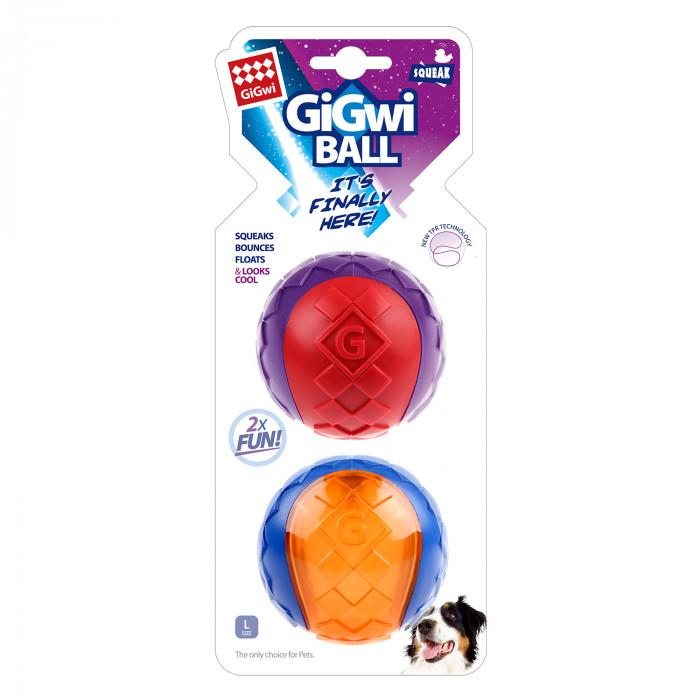 GIGWI Šunų žaislų rinkinys Kamuoliai