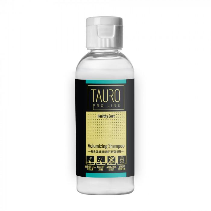 TAURO PRO LINE Healthy Coat volumizing shampoo , šampūnas šunims ir katėms