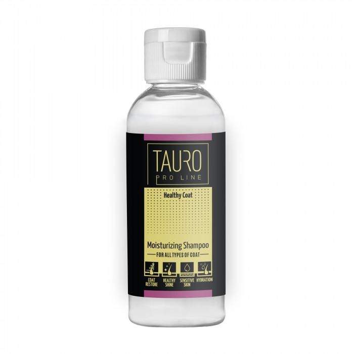 TAURO PRO LINE Healthy Coat moisturizing shampoo, šampūnas šunims ir katėms