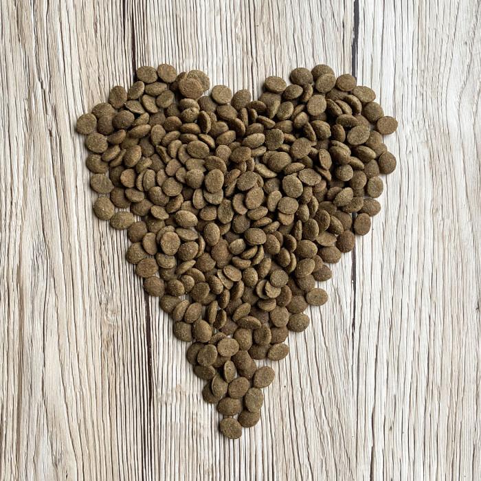 OAK'S FARM Grain Free Salmon Sterilised 8+ Cat  sausas pašaras suaugusioms sterilizuotoms katėms su lašiša