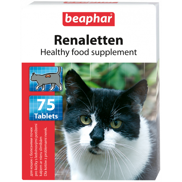 BEAPHAR Renaletten tabletės katėms