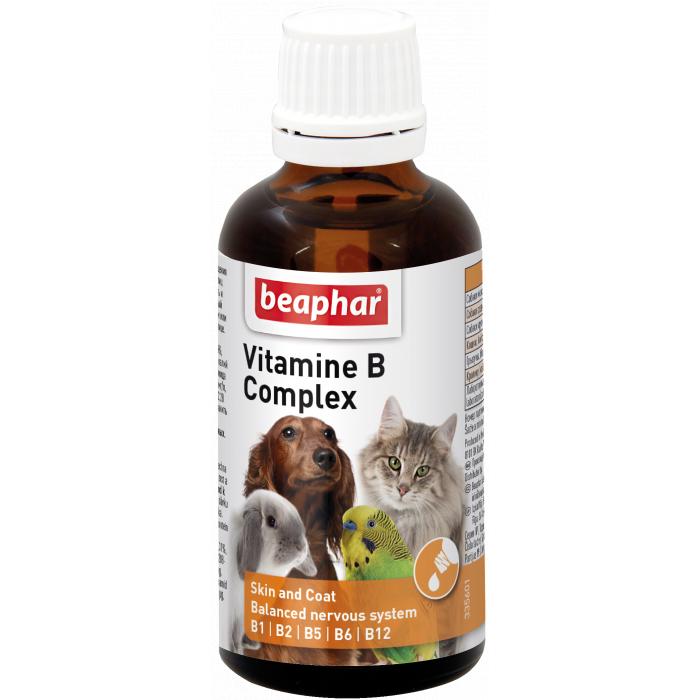 BEAPHAR Vitamino B kompleksas katėms ir šunims