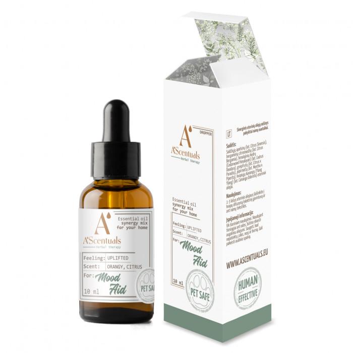 A'SCENTUALS Herbal Therapy Mood Aid  eterinių aliejų mišinys