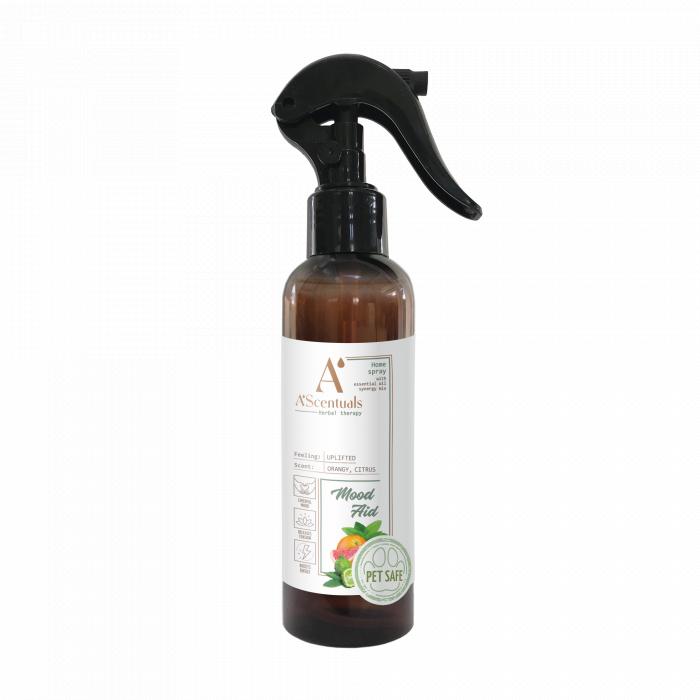 A'SCENTUALS Herbal Home Care Mood Aid namų purškiklis,