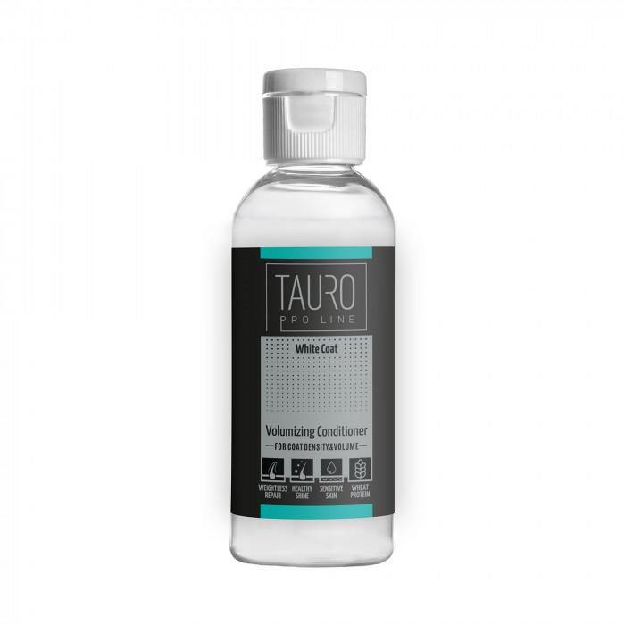 TAURO PRO LINE White Coat volumizing conditioner , kondicionierius šunims ir katėms