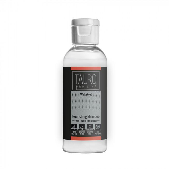 TAURO PRO LINE White Coat Nourishing Shampoo , šampūnas šunims ir katėms