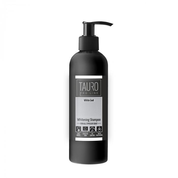 TAURO PRO LINE White Coat Whitening Shampoo , šampūnas šunims ir katėms