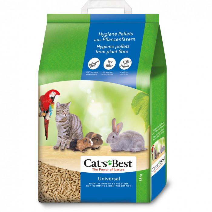 JRS Cats best Universal Natūralus pjuveninis kraikas