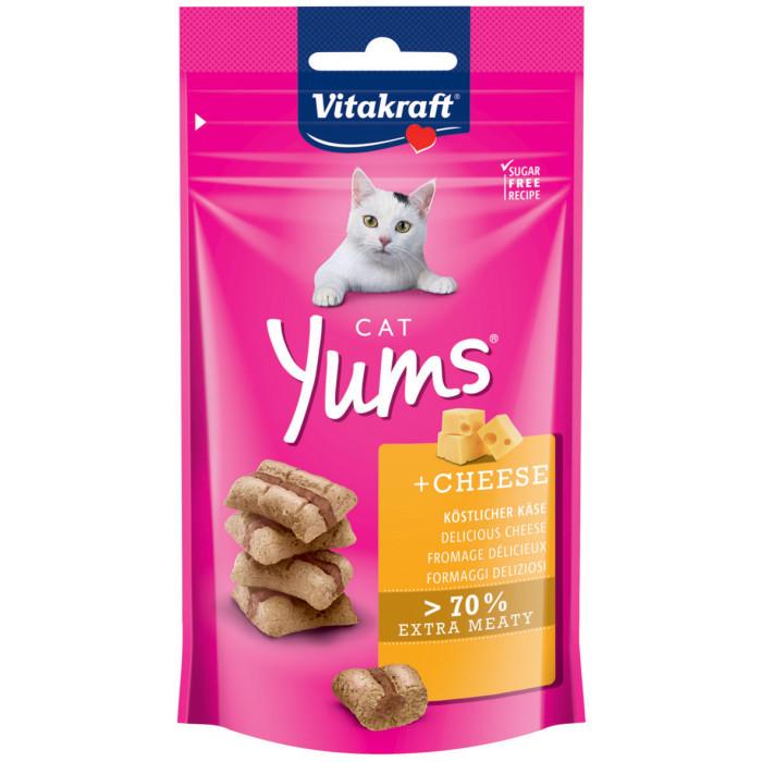 VITAKRAFT Cat Yums Skanėstas su sūriu