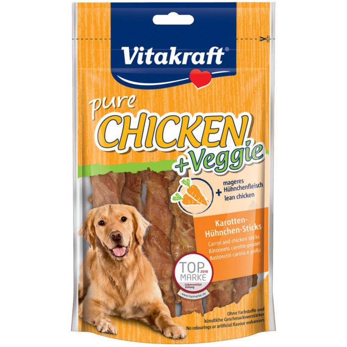 VITAKRAFT Veggi Skanėstas šunims su vištiena ir morkomis