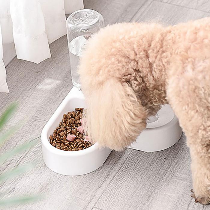ELS PET gyvūnų gertuvė ir dubenėlis Širdies forma