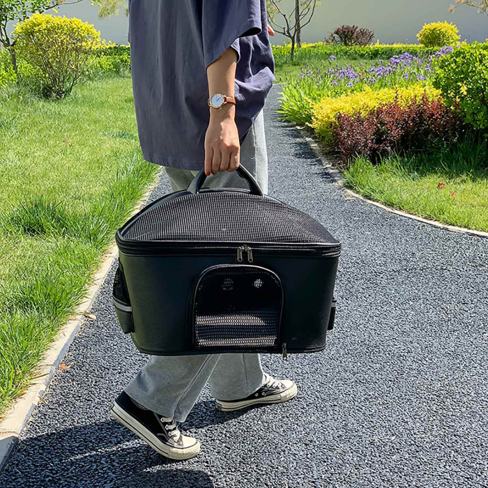 PAW COUTURE Pernešimo krepšys gyvūnui,