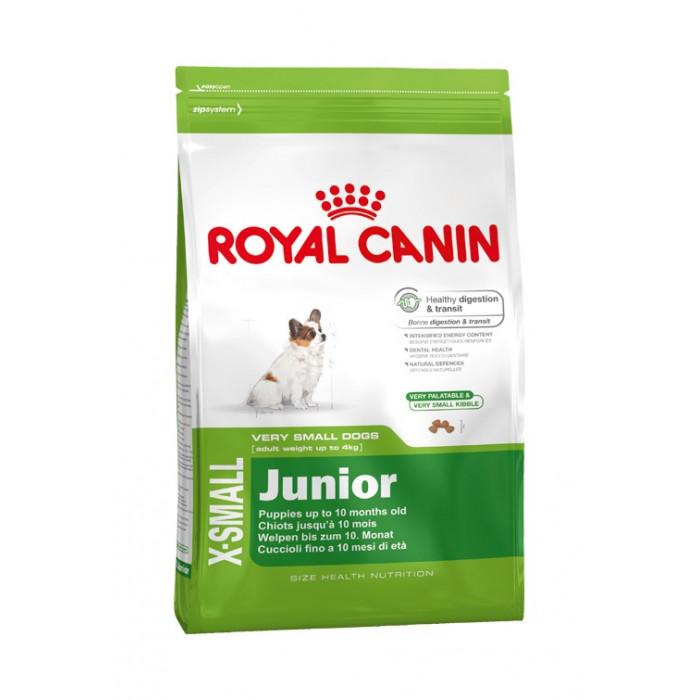 ROYAL CANIN X-small Junior Sausas pašaras šunims