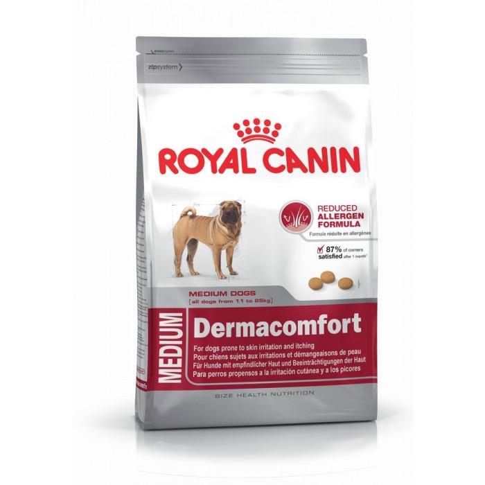 ROYAL CANIN Dermacomfort Medium Sausas pašaras šunims