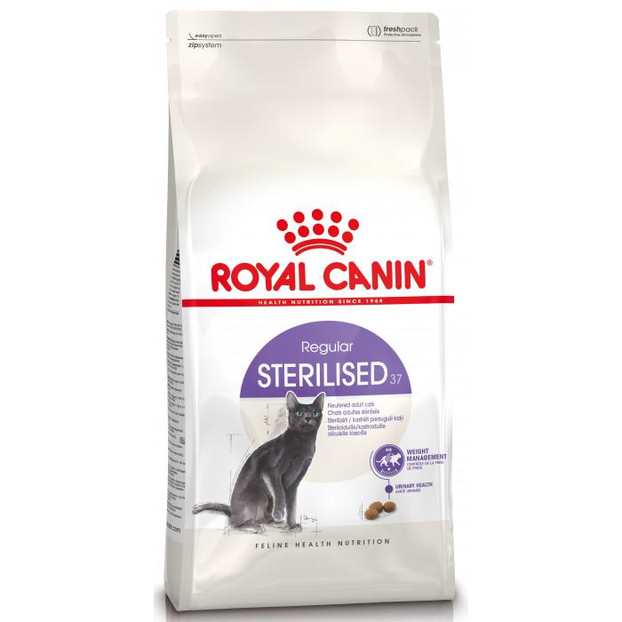 ROYAL CANIN Sterilised 37 Sausas pašaras katėms