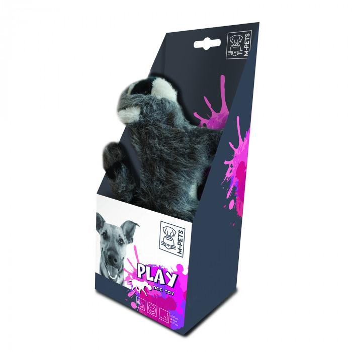 M-PETS Šunų žaislas su garsu, BARSUKAS,