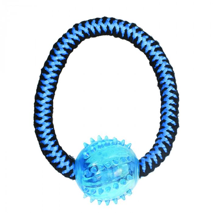 M-PETS Šunų žaislas susuktas žiedas