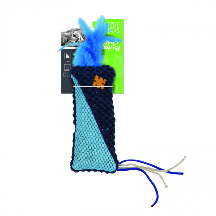 M-PETS Kačių žaislas su plunksnomis, HERBY